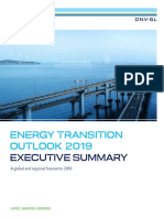 DNV GL Energy Transition Outlook 2019 – Executive Summary Lowres Single