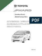 Hybrid Vehicle Dismantling Manual for ATH20 - Alphard HV.pdf