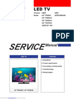 Service manual LED TV SAMSUNG