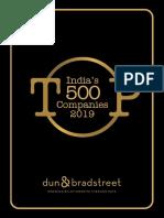 Indias Top 500 Companies 2019