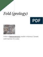 Fold (Geology) - Wikipedia