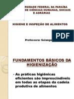 Higiene Bacharelado 2011 1