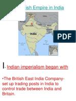 1.1 British Empire in India