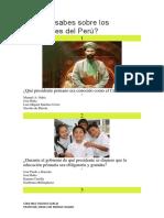 Cuánto Sabes Sobre Los Presidentes Del Perú