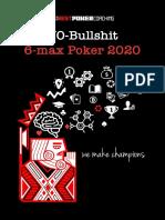 No-BS 6-max Poker 2020 19.10.2019