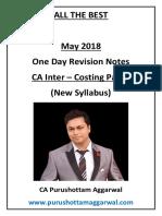 CA Inter Costing Concepts Revision PDF