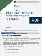 JYOC-JAVA-Cap10 Clases Complementarias y Enumerados