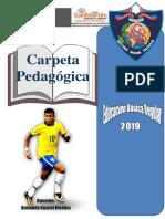 Caratula Carp. Pdg. 2019