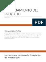 Semana x Financiamiento Del Proyecto