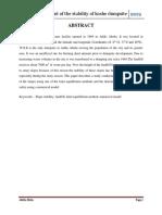 Proposal on Assessment of the Koshe Dumpsite