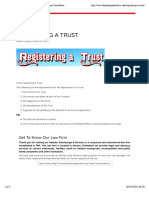 REGISTERING a TRUST - Law Firm - Harare Zimbabwe