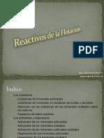 4.5.Reactivos de la Flotación-1