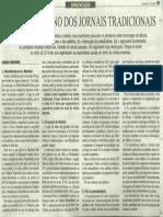 Chaparro_ Jornais tradicionais