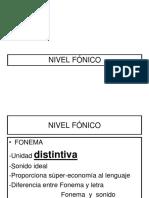 Cap 6. 2 Nivel Fonico