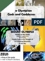 Greek Gods and Goddessess