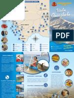 Tríptico turístico de la provincia del Santa.