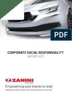 Zanini Social Responsibility