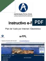 Instructivo e FPL
