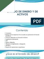 Presentacion Lavado de Dinero y de Activos