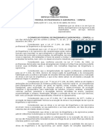 CONFEA - Resolução 1116