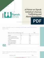 Primer on ISpeak Initiative