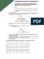 Examen Parcial Analisis Matematico I