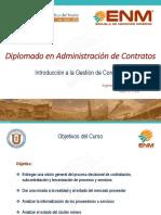 1.- Introducción a La Administración de Contratos