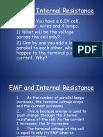 EMF and Internal Resistance PP