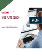 Base Plate Design - Hilti