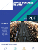 Movilizaciones Sociales en Chile Octubre 2019