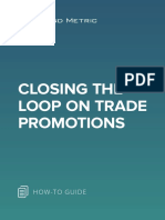 Closing the Loop on Trade Promotions