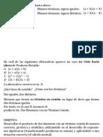 Producto de Binomios Con Algeblocks