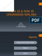 PSAK 45 & ISAK 35