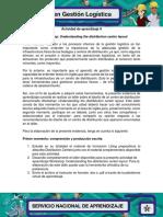 Evidencia 2 Act 9 Workshop Understanding the Distribution Center Layout V2