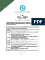 Agenda Academica 14 de Noviembre 2019