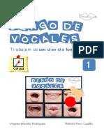 Conciencia Fonologica Bingo Vocales