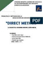 Ventajas y Desventajas Del Direct Method