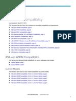 Cisco ASA-ASDM Compability