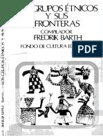 Los Grupos Etnicos y Sus Fronteras