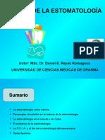Historia de La Estomatologia