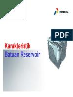 Teknik Reservoir - Minggu II (2014)