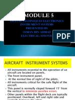 5.1 Modify Electronic Instrument System