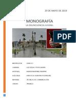 Monografia de Delincuencia