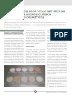 Protocolo cosmetico