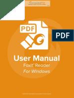 FoxitReader82 Manual
