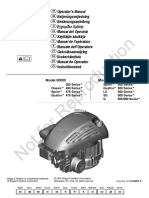 Briggs & Stratton Engine Manual, Model 90000/100000