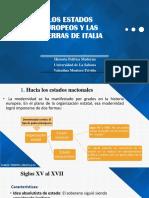 LOS ESTADOS EUROPEOS Y LAS GUERRAS DE ITALIA  FINAL.pptx