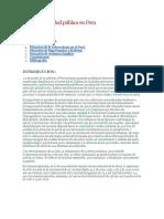 01 Situacion de Salud Pública en Peru
