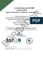 Examen simulacro ISTQB