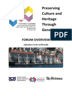 Diversity Matters Forum Overview and Theme Summaries 2014